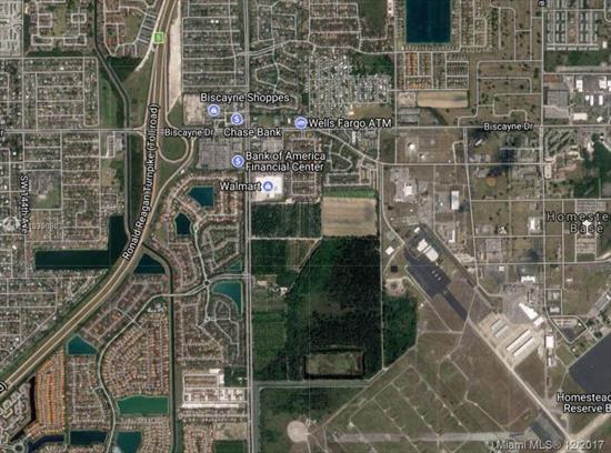Attention Builders And Developers: 9.20 Acres M/L In Ideal Location, Fronting On Speedway Boulevard (S.W. 137 Avenue), Close To Racetrack, New Walmart, Homestead Air Reserve Base, Homestead Sports Complex And Across The Street From The Highly Successful Waterstone Residential Development, Currently Zoned Agricultural And Utilized As A Tree Farm. Miami-Dade County Master Planned As Low Density Residential-2.5 To 6 Units Per Acre-Potential To Rezone Commercial. Please Call Listing Agent For Further Details.