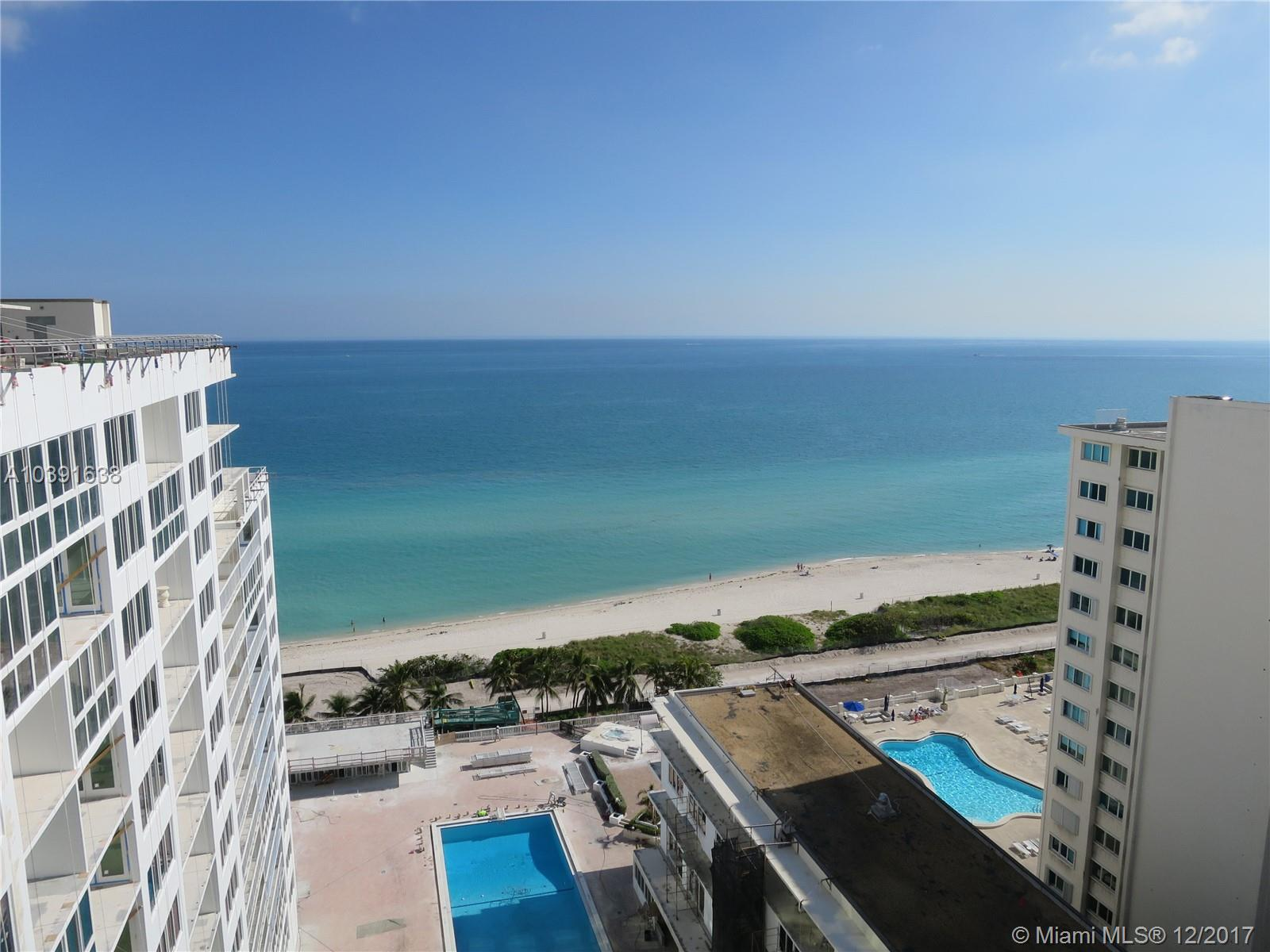 I+Ógé¼Gäóm Excited About This Property! +Ógé¼-ª Now Let Me Tell You Why!... Direct Ocean Front - 5/4 + Maids Room, 2, 620/Sf + 1, 400/Sf Balcony (56+Ógé¼Gäóx25'), 9.6+Ógé¼Gäó Ceiling, Maint = $1, 425/Mo, Kosher Kitchen/Granite Counters/Sub-Zero/Bosch/Askar, Two Sound Systems (Inside & Outside), Crown Molding, Outside Storage Room, 1 Assigned Parking Space + Valet, New Hurricane Windows & Doors - Building Undergoing A $20M Renovation - December 2019 Completion Date, Owners Assessment $96, 030 - Paid In Full! +Ógé¼-ª+Ógé¼-ª+Ógé¼-ª+Ógé¼-ª All Buyers Must Preview Unbranded Video On Vt Before Showing!