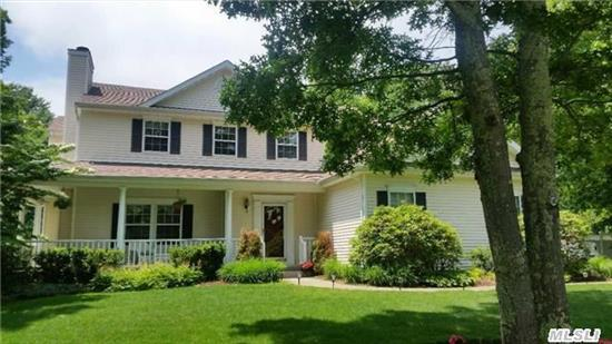 Located In An Established Development. Sunny & Bright W/ Updated Granite Kit, & Newer Appliances, Dining Area W/ Sliders To Sunny Patio & Country Club Yard W/In Ground Pool & Waterfall, Entertainment Size Living Room W/Marble Surround Fireplace & French Doors To Covered Wrap-Around Porch, King Size Master Suite W/ Sitting Area & Mstr Bth. 1 Year Home Warranty Included