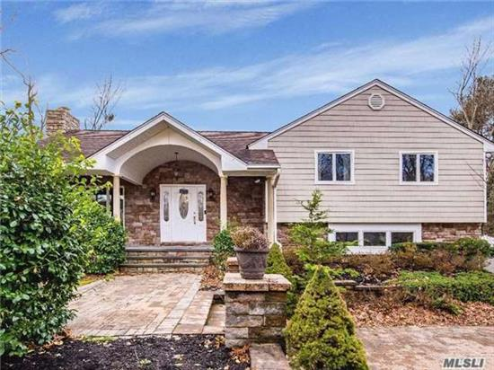 Beautifully Expanded & Professionally Designed Split Level Home In The Picturesque Caledonia Section Of Dix Hills. Featuring An Open Floor Plan, Granite Eik W/ Vaulted Ceilings, Ss App, 10 Island & Radiant Heat Fl, L/ R & Family Rm W/ Fp, Gym, Playrm/Office, Stunning Master, 3 Add'l Beds, Full Bath, Laundry Rm, 2 Level Paved Patio & Driveway. Signal Hill/West Hollow/Hse!
