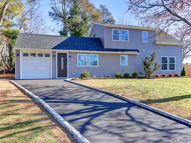 Brand New Renovated Home In A Snug Corner Of Wantagh. Done To Perfection. Huge Master Bedroom, Huge Lot For Entertaining, Move Right In. Home Was Done With Energy Efficiency Heating And Insulation. Macarthur Award Winning Schools. This One Will Go Fast!