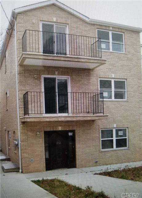 Nice And Clean Building Has Tax Abetement, 1st Floor Has High Celling. Basement Has Lots Of Windows. Property Has 3 Entrance. Its A One Of A Kind, Its The Only One Property On The Block.