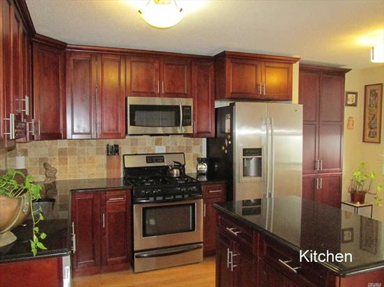 Highly Renovated Two Bedroom +Two New Baths+Open Kitchen With Stainless Steel Appliances; Closets Galore; Wood Floors Throughout;Terrace;Southern Exposure; Year Round Swim/Fitness Center/Concierge/Doorman/Tennis Club;Pool;Underground Stores And On Premises Restaurant Plus More. A Must See.