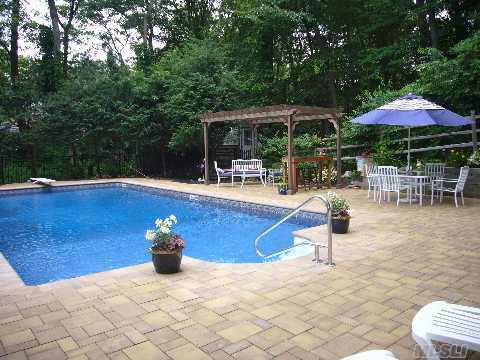 This Hill Top Setting Is Just Waiting For You To Come And Enjoy The 2 Year Old Pool W/Beautiful Patios/W Pergola & Awning,Perennial Gardens,Wired For Outdoor Music, & Estate Fencing. Great For Entertaining.New Windows,Bath,New Roof,Electric In&Out, New Cesspool,Very Spacious And Relaxiing