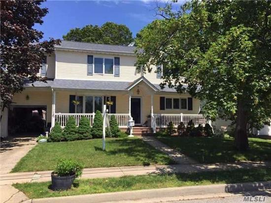 Pristine Condition Colonial Mid Block Location With Extra Large Property. Many Updates Including Gourmet Chef Kitchen With Quartz Counter Tops And Solid White Wood Cabinets And French Blue Accent Island. Wolf Stove And Upgraded Appliances. All New Custom Baths. New Floors Throughout House. State Of The Art Central Vacuum On All 3 Levels. New Solid Wood Doors Too.