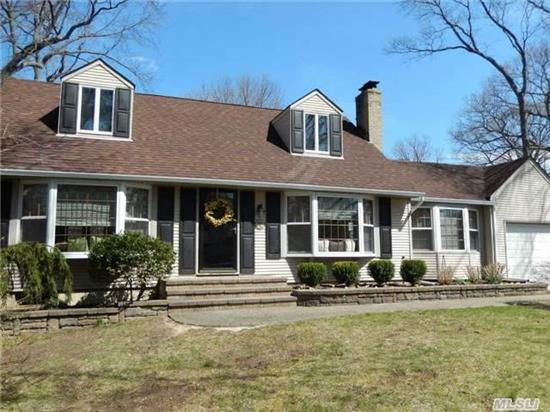 Fabulous Village Cape Just Renovated To Perfection! Lots Of New Include Kitchen W/Granite & Ss Appl New Cac System New 220 Electric Srvc New Oil Tank Updated Roof And Windows Freshly Painted Brand New Carpet New Landscaping And New Shutters. Will Not Last Taxes Do Not Reflect Star Of 842.00