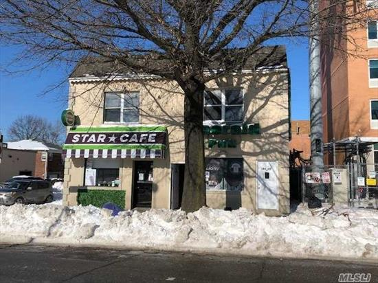 Excellent Opportunity Mixed Use Building With 2 Stores One Is A Bar And Other Is Deli/ Cafe And 2 Apartments , Next To New Mariott Hotel , Owner Currently Occupies Bar And 3 Bedroom Apt. He Is Neogiatable And Wants To Hear All Offers
