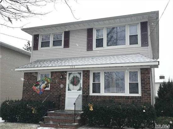 Great Opportunity Own This Legal 2 Family Home In Garden City South. Franklin Square Schools, Beautiful Sun Room Off Of Master Bedroom. Nice And Bright. Full Basement With Outside Entrance. Franklin Ave Restaurants & Shopping Nearby. Tons Of Potential !