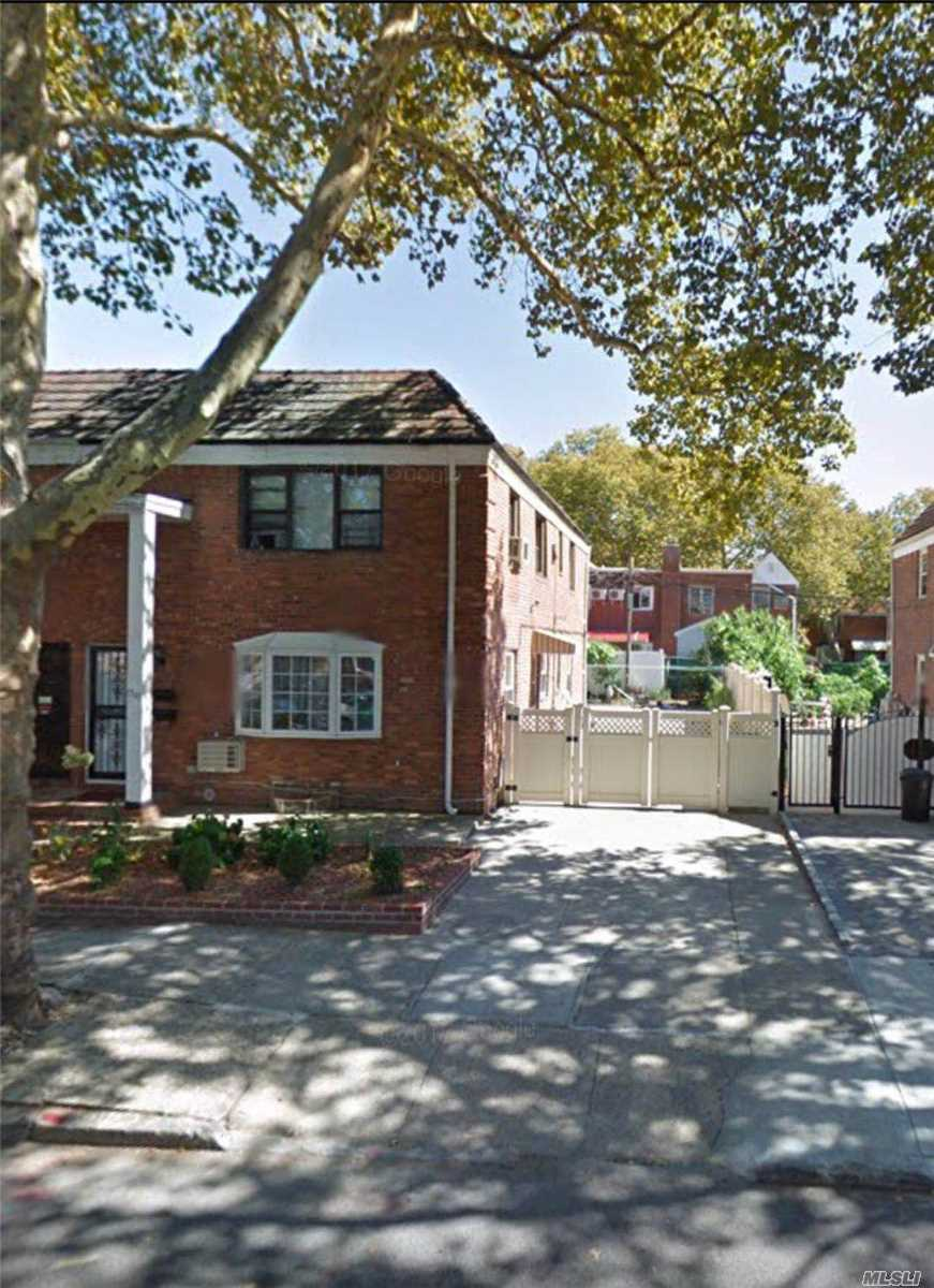 Semi Detached Brick Legal 2 Family. Very Good Condition. Great Area With Cunningham Park School District 26. Walking Distance To Everything.