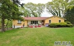 You Will Love The Character & Charm Of This 4 Bed/3Bath Ranch On Vanderbuilt Peninsula. Harborfields Schools! Set On Over 1/2 Acre With A Privately Landscaped Lot. This House Features Spacious Rooms, Custom French Doors In Dr, Detailed Moldings, Hardwood Floors, Cac, Stone Fireplace And More. This Perfect Family Home Won't Last!