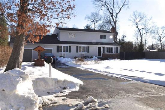 Beautiful 3 Bedroom Colonial W/Possible 4 Br On Main Fl, Eik, 2 1/2 Baths, Full Finished Basement W/ Outside Ent, Over Sized 2 Car Garage , Heated Free Form In Ground Pool, Regulation Size Tennis Court.New Roof 9/2017