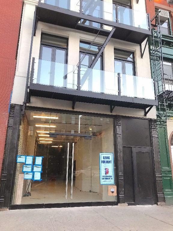 Retail space for rent in the historic Amato Opera House. 1, 500 sq. ft plus garden and basement with 19 foot ceilings. Food OK. Neighbors include Patagonia Surf, Saxon + Parole, and Momofuku Ko.   Conveniently located near B, D, F, M & 6 train lines as well as M103 and M21 bus lines. Steps from some of the city's best shopping, restaurants and nightlife, neighbors include Patagonia Surf, Saxon + Parole, and Momofuku Ko.  Please call 917-261-6561 for more information or to schedule a viewing.