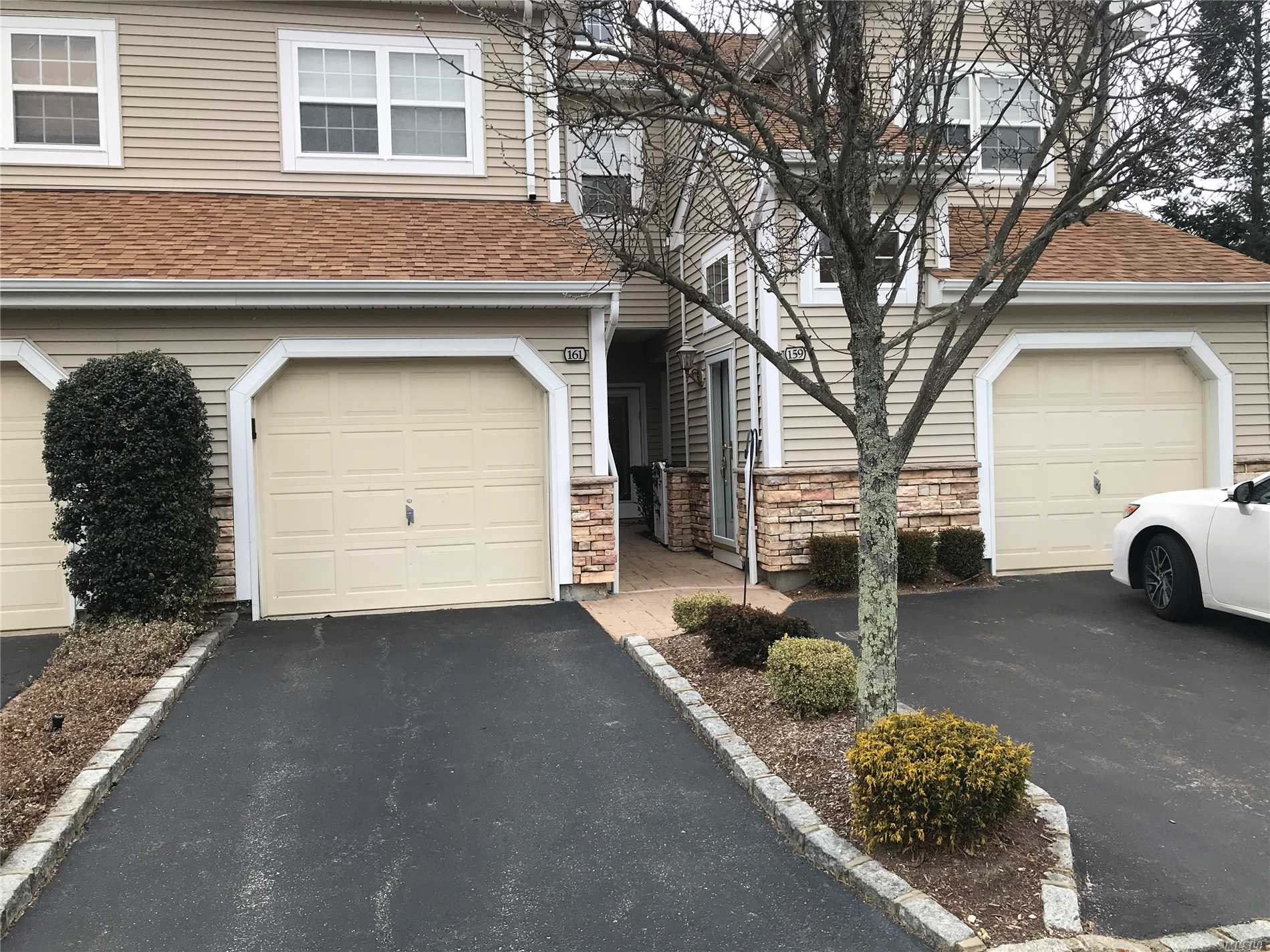 Sought After Lower Corner Unit W/The Most Natural Light , Bayberry Model Largest Main Level Unit. Desirable Location On Carriage Lane. No Steps Eat In Kitchen-Dinning Room-W/Sliders To Patios, Gas B.B.Q., Updated Bath W/Jacuzzi Walk In Closet Many Custom Features (Extra Side Garden) Come And Enjoy This Wonderful Safe Community