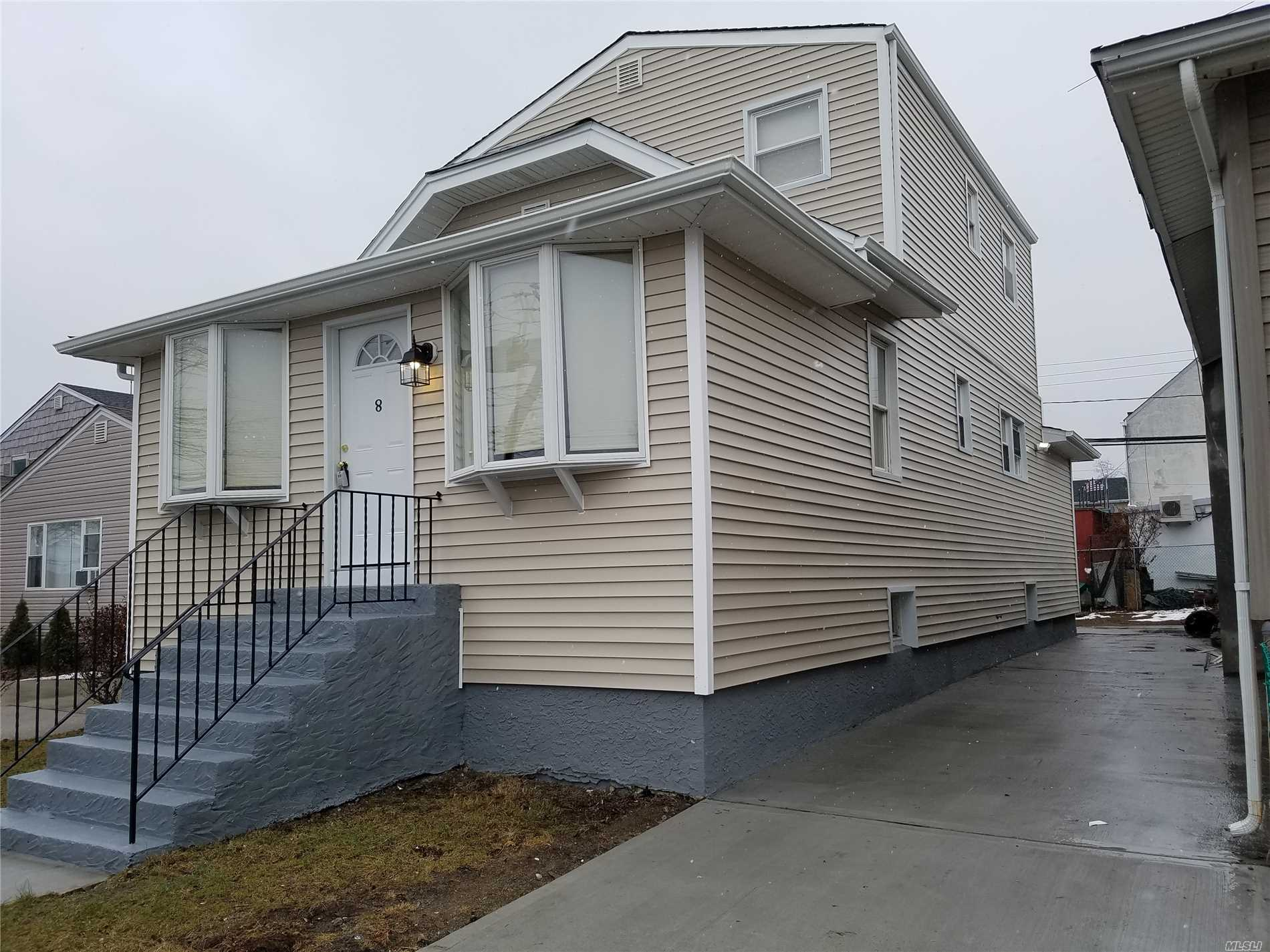 Totally Renovated 3 Bedrooms, 2 Full Bathrooms Colonial, All New Stanley Steel Appliances, Walking Distance To Train Station, Low Taxes, Great Location