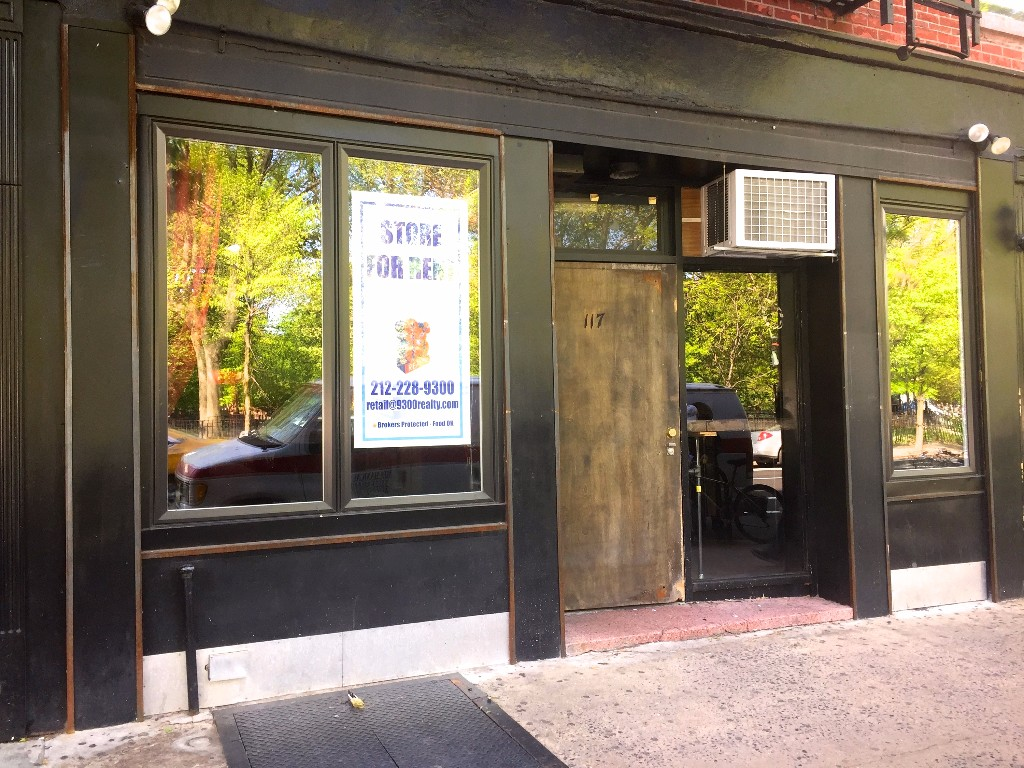 Space with Liquor License & 24 ft of frontage across from Tompkins Sq Park on Ave A! 2, 000 sq. ft. plus backyard and basement. Food OK.  Great east Village location steps from M14 & M15 busses and a short walk to the L & F trains. Steps from some of the NYCs best restaurants and nightlife, including Empellon Al Pastor, Schiller's, & Flinders Lane.  Please call 917-261-6561 for more information or to schedule a viewing.