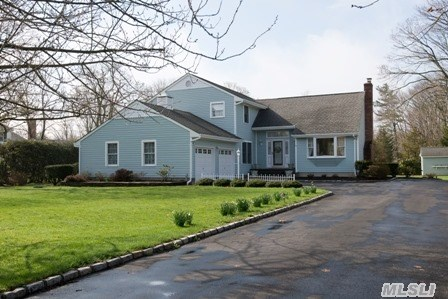 Warm And Cozy Decribes This Unique Home! So. Bayport Home Colonial Meticulously Maintained.  Come See The Many Wow Factors - Oak Flrs, Lrwfp, Fdr, Denwfp, Eik, Cen'l Vac, Cac, Mstr Bdrmwbath, . The 3 Bay Barn - So Many Possibilities For Antique Car Enthusiast, Contractor, Cabana Or Studio. Bsmt With Work Areas, Office - Ose. Not To Be Missed!!