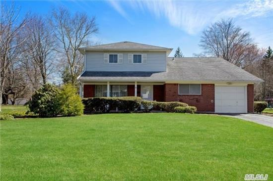 First Time Offered! All Large Principal Rooms. Gracious And Spacious Home In The Sought After Candy Section Of Commack. Mrs. Clean's Professor Lives Here. Immaculate Throughout. Flat Beautiful 1/2 Acre. Tons Of Closets And Storage Space. Acclaimed Commack Schools.