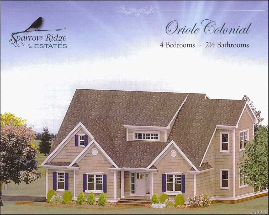 New Construction In Center Moriches.Buyer Must Verify Taxes With Town East Moriches Schools. Builder Will Build To Suit, 3/4 Acre Lots, Pella Windows, 8'Clg In Bsmt, 2X6 Construction. Hw Floors On Throughout 1st Level & Upstairs Hall. Upgraded Cabinets In Kitchen, Granite, Spectacular Master Suite W/ Granite/Marble In Master Bath, Soak Tub & Shower, Walk-In Closet, Other Upgrades Available. Backs Preserve