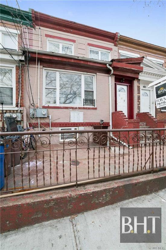 Welcome To Your New Home. A Two-Family Home Located In East New York, Brooklyn, Which Includes A Two-Bedroom One-Bathroom Large Apartment On The First Floor, And A Two-Bedroom One-Bathroom Apartment On The Second Floor. Perfect For Anyone Looking To Live Comfortably While Collecting Rent That Will Cover Your Mortgage! Don't Forget Your Full Finished Basement And Large B