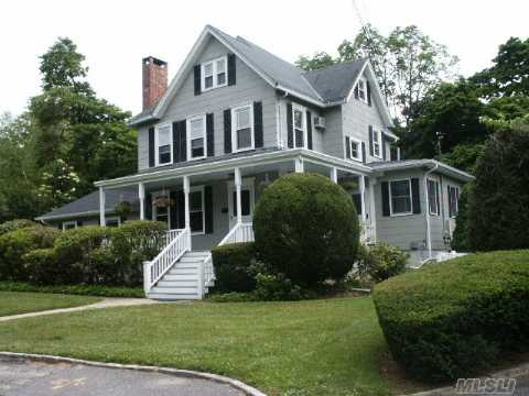 The Adventure Of Timeless Elegance...Turn Of The Century 5Br, 3Bth Colonial Set On A Deep Lot On One Of Sea Cliff's Most Desirable Streets. Ef, Lr, Fdr, Eik, Office, Guest Suite On 1st Floor,Full, Finished Basement W/Fireplace,3rd Floor Bonus Room W/Heat & Carpeting.