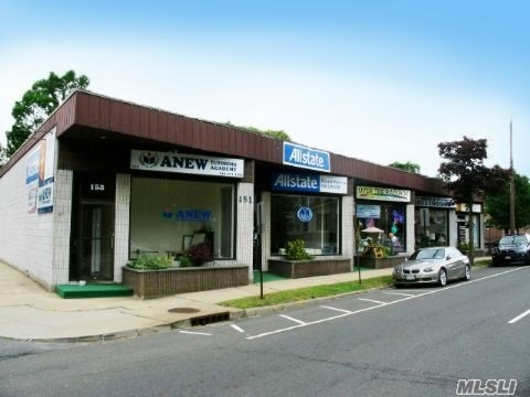 Former Allstate Insurance Office Available Immediately. Excellent For Retail Or Office And Available Immediately. Light Filled Space, Metered Gas & Electricity, Sprinklered With Street Parking And Customer Parking In The Rear.