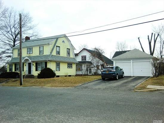 Converted Residence (Prop Class 483) Formerly Dentist Office (Needs Updating) On First Floor With Apartment On Second Floor. New Oil Fired Boiler And 200 Amp Electric Service. Walking Distance To Train Station And Downtown Main St. Area. Detached 2 Car Garage. Great Opportunity!