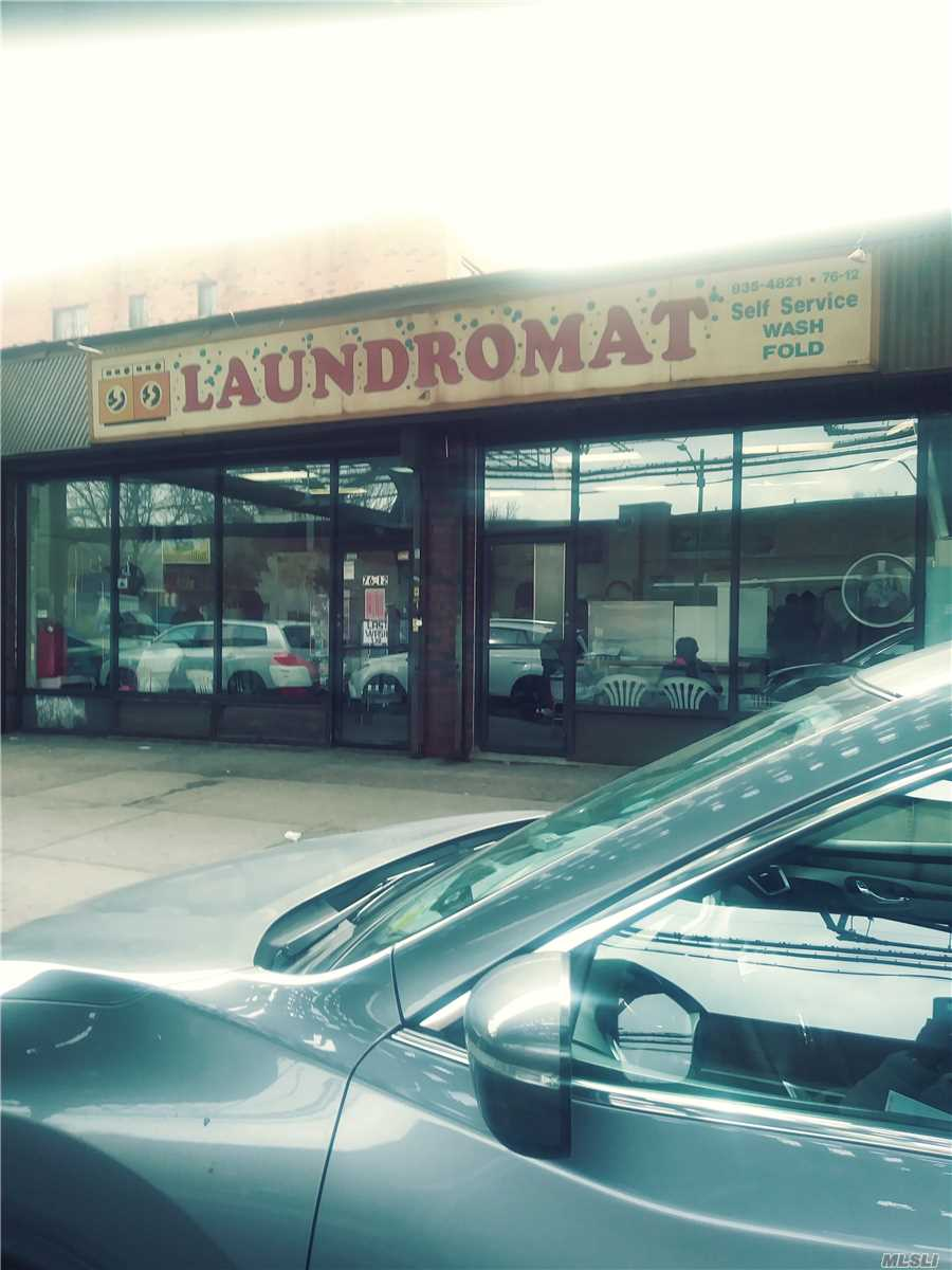 Business In Existence For 12 Years. 8 Years Left On Current Lease, New Washers And Dryers, Conveniently Located On The Border Of Brooklyn And Queens, City Line. It Is Surrounded By Multi Family Rentals Tenants Occupied, Heavy Traffic And Shopping Area On Liberty Avenue. Rent Is Only $3100.00 Per Month. Other Washing Products Are Sold For Convenience. No Payroll. 22 Washer & 22 Dryer. City Line Heavy Tenants Traffic.