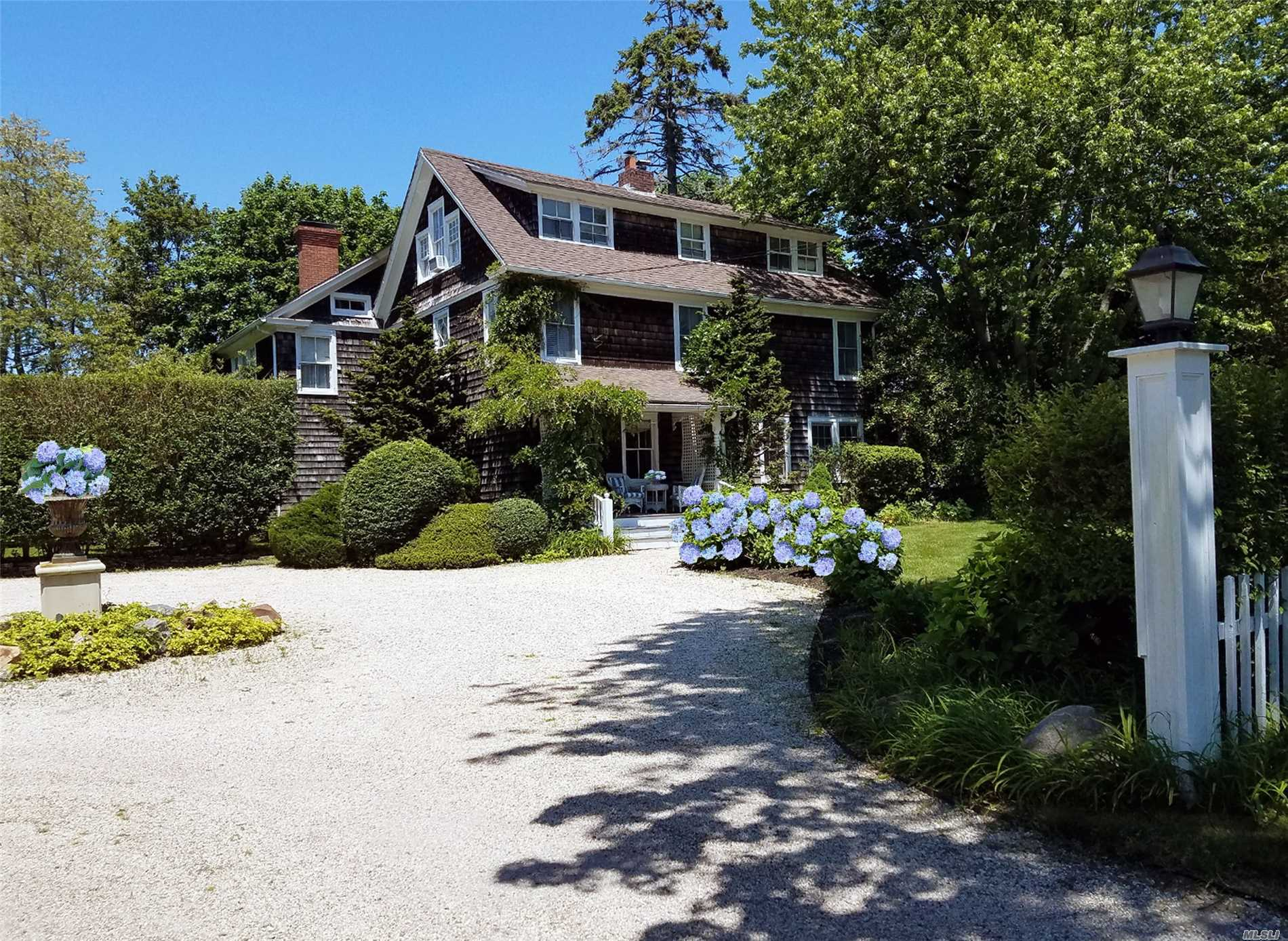 Rare Southampton Village Income Producing Opportunity! Fully Permitted Legal Short Term Stay No 2 Week Minimum Rental Requirements, Bed & Breakfast.Priced To Sell! 'Hill Street' 4400 Sq Ft Hamptons Classic Charmer Corner Lot On Just Shy Acre W' Salt Water Pool. Ideally Situated - Heart Of The Village Nearby To Ocean Beaches, Golf, Clubs & Village Amenities! Embrace Its' Character & Great Vibe, Expand & Or Create Lux B&B/Rental Property In This Choice Spot. Great N.Y.C. Commute!