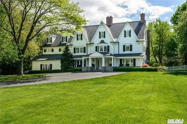 This 7 Bedroom Gatsby Era Country Colonial Provides The Perfect Setting For Indoor And Outdoor Living. Traditional Details Enhance Generous Principal Rooms. There Is Also 2 Wonderful Multipurpose Large Rooms On The Third Floor. Enjoy Peaceful Splendor On Two Park-Like Acres With A Sparkling In Ground Pool, Cabana And Sports Court. East Williston School District.
