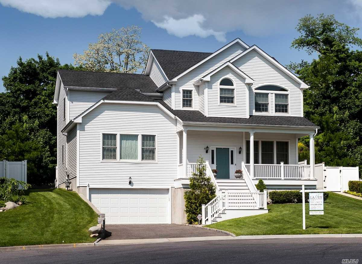 This Luxury 4 Br, 3.5-Bath Custom Col, 3-Years Young, 3200 Beautiful Sq Ft Of Elegant Living + Full Fin Basement & 2-Car Gar. Nestled On A Quiet Cul De Sac In Landing Ct Cul De Sac In Glenwood Landing, This Gorgeous Home Offers Award-Winning North Shore S.D. W/The Int'l Baccalaureate Program, Easy Access To Fine Dining & Shopping, Close To Beaches.**Taxes Are For 2019-20 With More Reductions Coming! (See Attached Letter) Note: Glenwood Landing Address).