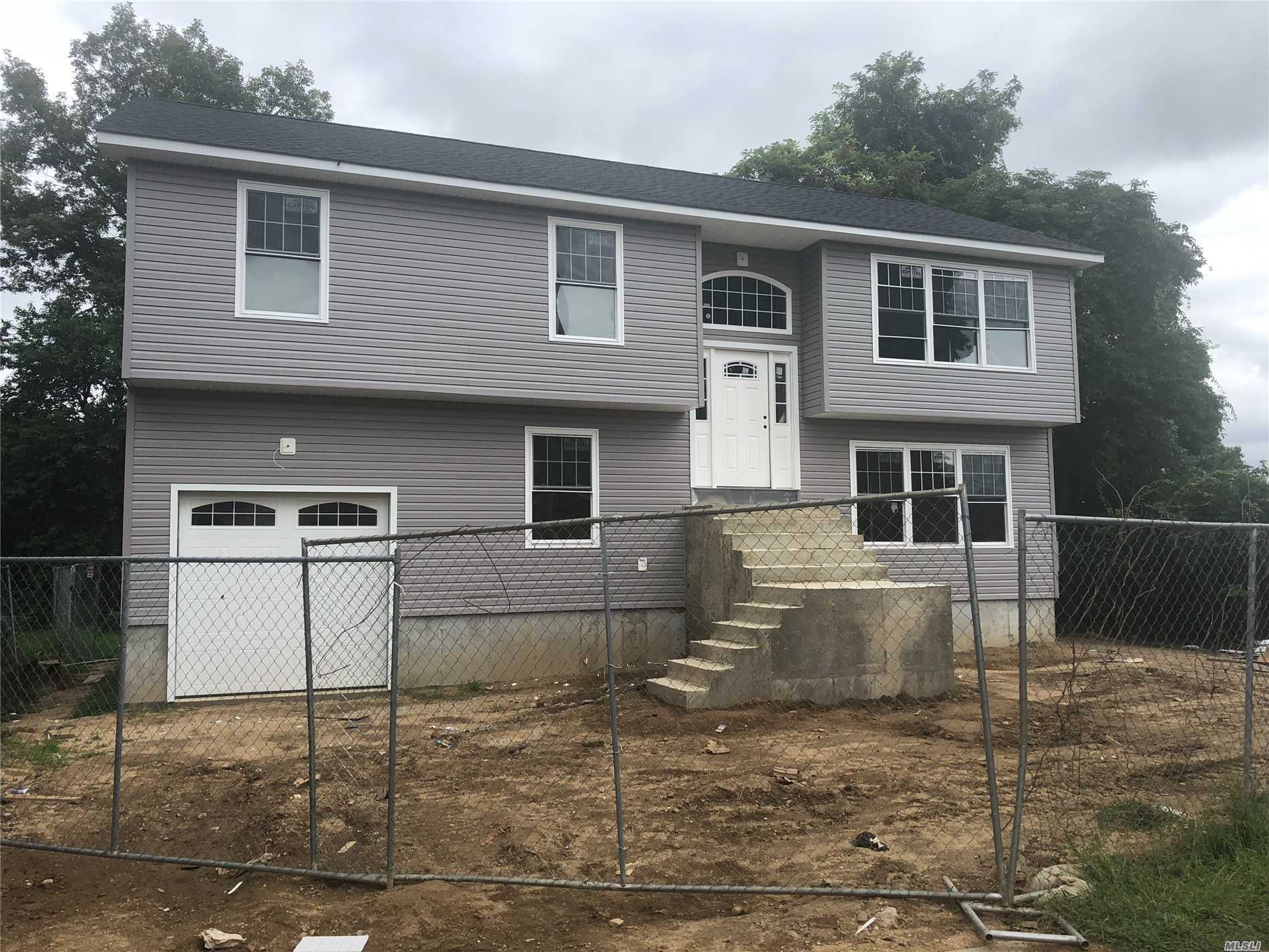 Photos Of Completed House Is For Workmanship Only...Same Builder Built It. Great Deadend Location, 64X100, Huge Full Basement With Separate Entrance, Cac, 5 Spacious Bedrooms, 2 Baths, 1 Car Garage, Home Will Be Built By 10/15, Still Time To Pick Out A Few Things.