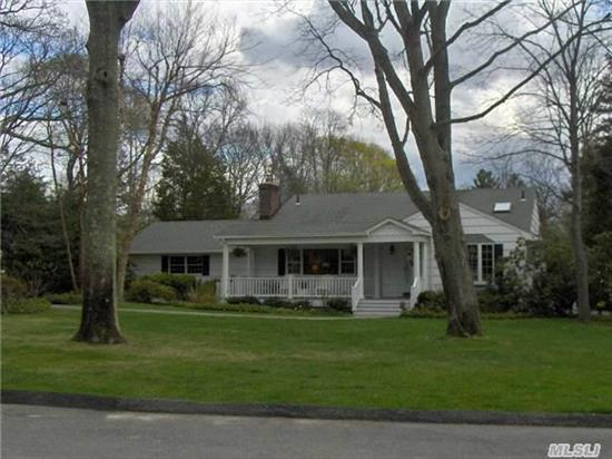 Decorators Delight!!! Move In Do Nothing Home On Cul De Sac In Cold Spring Harbor,  Cac,  Lots Of Closet Space,  Open Floor Plan,  1/2 Acre+,  Cold Spring Harbor Schools. Don't Miss This Gem.