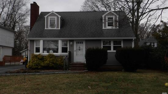 Large Cape On A Dead End Street. New Siding, Ose Entrance To Basement. Two Car Det Garage.