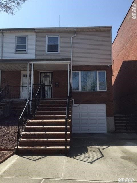 3 Bedroom 2.5 Bath ,  Whole House Renovated. Walk In Basement,  Walk To Queens College, Driveway Can Park 2 Cars,  Convenient For All