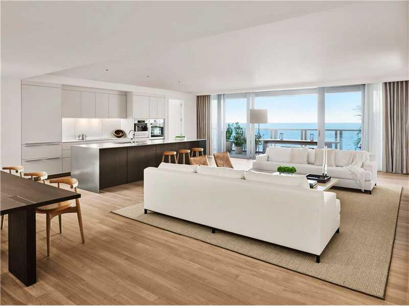 Designed By World Renown Architect, John Pawson, This 3 Bedroom, 3.5 Bathroom Residence Boasts 8.5+Ógé¼Gäó Floor-To-Ceiling Windows That Lead To Expansive Terraces Directly Facing The Atlantic Ocean. Featuring A Private Entry Foyer, Brazilian Teak Floors Throughout, Custom Designed Bulthaup Kitchens, Translucent Italian White Onyx And Custom-Cast Concrete In The Bathrooms. Residents Enjoy 24-Hour Five Star World-Class Services And Amenities, Poolside Cabanas, Resident-Only Beach Club And Much More.