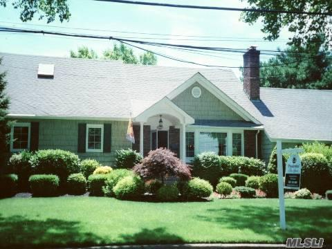 Better Than New!Absolutely Gorgeous-West Neck Beauty. Totally Renovated And Extended.Livingrm/Fireplace,Extended Familyrm.,Glass Doors Leading To Patio And Pool Area. (2)Masterbedrm/Suites-Gorgeous Bath,Skylights, Newly Painted. Close To Huntington Village And Beaches. Motivated Sellers!!