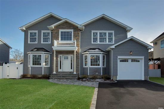 Under Construction.. Spectacular 5 Bdrm 3 Bth Center Hall Colonial. Grand Master Suite W Full Spa Bth & 2 Closets, Upper Level Laundry. Great Rm W Gas Fplce, Eik W Granite Counter-Tops, Custom Cabinets, Ss Appliances, Large Formal Dr, Large Formal Lr, Custom Moldings & Fixtures Throughout. Customize Colors Now!