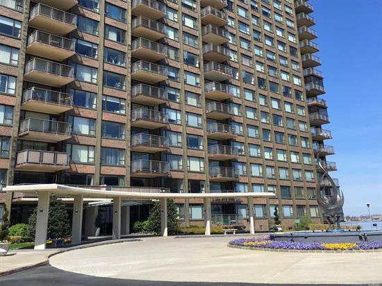 Amazing Waterfront Penthouse Apartment Located In The Luxury Cryder House. This 3 Bedroom Unit Is Set Up As A 2 Bedroom. One Of The Largest Apartments In The Building. Master Bedroom & Master Bathroom Are Huge. Unit Has L/R, D/R, E-I-K, 2 Bedroom's, 2 Bathroom's And Terrace With Amazing Nyc And Bridge Views, 24 Hour Doorman, Gym, Library,  Heated Pool  & Vallet Parking.