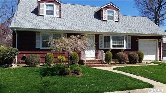 Wideline New Englander Features Eat-In-Kitchen, Formal Dining Rm, Rear Dormer, Florida Rm, Full Finished Bsmt, On Quiet Street. Won't Last!!