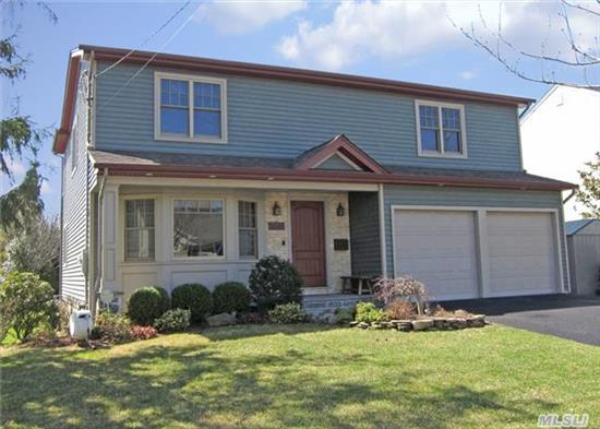 Located North Of Merrick Rd. Sits This Spacious 4 Br, 3Full Bath Colonial. Fully Renovated In 2008 With Attention To Detail. See Attached Sheet For All Amenities And Features. Low Taxes.