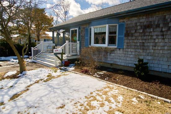 Great Cottage In Bellport Village, Renovated Eat-In Kitchen With Viking Stove, Updated Full Bath, Lots Of Windows, Very Spacious Living/Dining Space With Sliding Doors To Deck, Lovely Screen Porch, Large Yard, Low Taxes!!