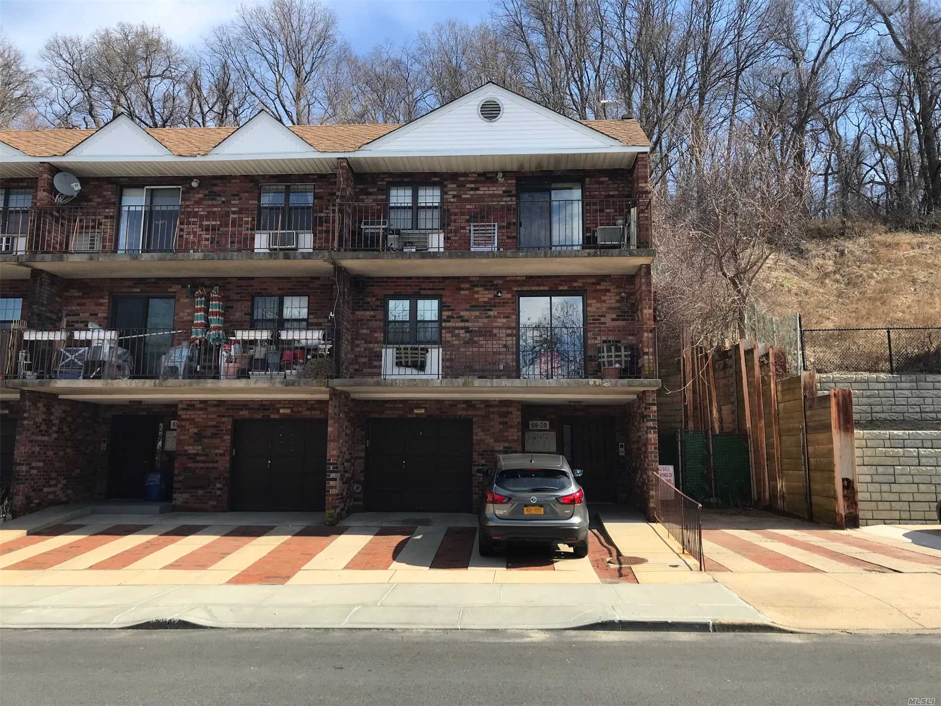 Sale May Be Subject To Term & Conditions Of An Offering Plan. Beautiful Brick One Bedroom Condo, One Full Bath , Kitchen , Granite Counter Top, Lr/Dr , Wood Floors,  Parking Space Available . In The Heart Of Douglaston W/ Balcony Includes Private Storage Room In Bsmt With The Washer/ Dryer. Great Location Access To Major Highways. Near Shopping Center.