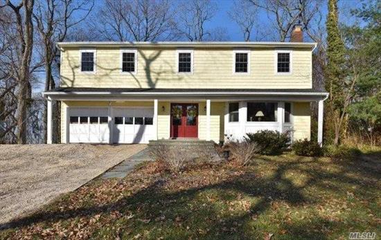 Simply Beautiful! 4 Bedroom , 2 1/2 Bath Brook-Field Colonial Is What You Have Been Waiting For.Generous Sized Rooms W/ Gleaming Hw Floors, Eik W/ Viking Stove, Custom Built Ins & Moldings, All New Baths, New Roof, Anderson Windows, Cac, Gas On Street, Tons Of Storage, Light & Bright, Private Yard W/ Multi Entertaining Areas, 2 Fireplaces, Laundry On Main, Full Bsmt, A Must See!