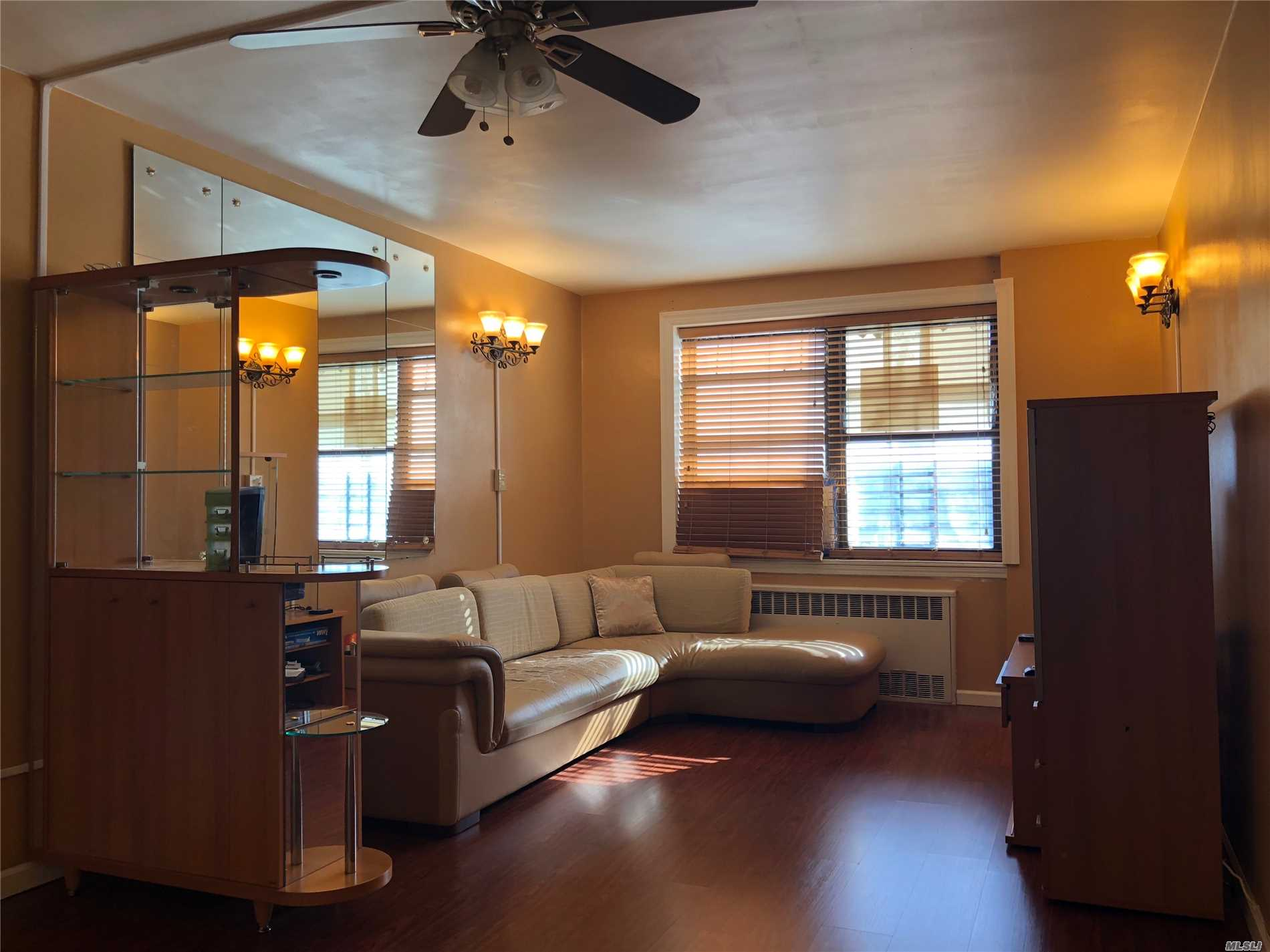 Updated Kitchen And Bath; Fresh Paint; Wood Floors; Bright And Airy Unit, Lots Of Closet Space, Closed To Shopping; Post Office; Library; Local Buses Q 20/ 14/34/ 44 To Downtown Main St. Express Bus Qm 2 To Nyc.