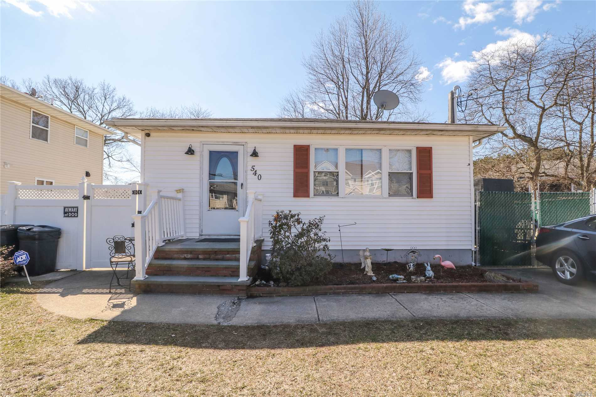 Well Maintained Ranch On A Dead End Street With Room For Mom, Full Finished Basement With Access To The Laundry, Full Bath And Living Area From Inside Then Separate Outside Entrance To Big Living Space On The Other Side Of The Basement With Another Full Bath, Bedroom, Living Room And Kitchen. Perfect For Extended Family! Priced To Sell!