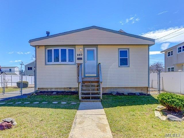 Ranch Style Home. This Home Feature 2 Bedrooms, 1 Full Bath, Formal Dining Room, Eat In Kitchen & 1 Car Garage. Centrally Located To All. Don't Miss This Opportunity!
