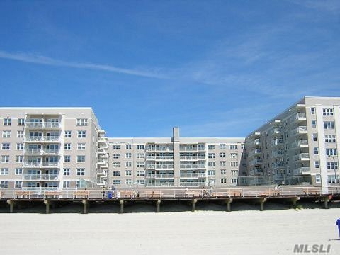 Top Floor With Spectacular Oceanview Overlooking Pool Deck. Sleeping Alocve And Dressing Area - Plenty Of Closets - All Updated Kitchen And Bath! Very Low Maintenance - Adorable And Affordable - Make This Your First Summer In Long Beach! Luxury Building With Pool, Gym, Security System, Direct Access To Beach, Storage, Party Rm, Library - Fios Or Cablevision.