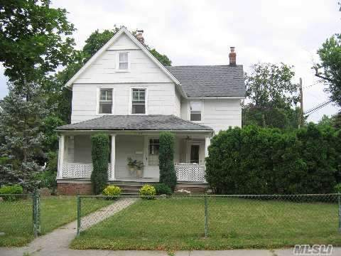 Charming C 1903 Colonial Set On Deep Lot... Priced To Sell