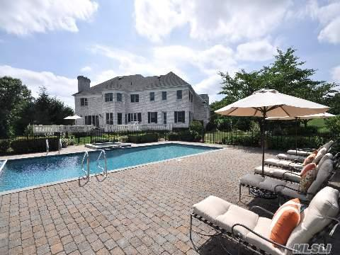 SOPHISTICATED COUNTRY CHARM AND ELEGANCE A most charming classic English Colonial masterpiece surrounded by 4 sprawling estate like acres located in the heart of Long Island's famed Gold Coast. Create your own lasting memories in this superbly sophisticated brick Colonial with its effervescent country charm and richly crafted appointments. Envision summers spent entertaining your family and friends in style on one of the most prestigious streets in Old Westbury.  LOCATION   Old Westbury, New York. The appeal of Old Westbury is its distinctive synthesis of country and city living, evident from its 35-minute proximity to major airports, Kennedy & LaGuardia, and just 45 minutes to Mid-town Manhattan. Long Island's picturesque North Shore is known for its beautiful parks, miles of equestrian trails and quaint harbors. Neighboring villages are distinguished by an array of fine dining establishments and upscale shopping, acclaimed private and public schools, and prominent country, yacht and beach clubs.  PROPERTY   The long brick drive leads to an elegantly manicured estate and lush vegetation. This one of a kind property sits among rolling landscapes and offer complete privacy and solitude. The highest quality craftsmanship is evident throughout featuring abundant windows, ornate fireplaces, polished hardwood floors with attractive walnut inlay, artfully crafted double crown moldings, exquisite tray ceilings and showcase quality designer accents. Relax and enjoy the expansive entertainment terrace with its bluestone patio and stone balusters; this is the place for you and your guests to enjoy sweeping views of the park-like acreage with its glistening pool and spa.  RESIDENCE  Ambiance radiates throughout this stately home. With its 6 bedrooms, 7.5 bathrooms and 5 fireplaces there is abundant room for the family to grow. Numerous walk-in closets, built-ins, hardwood floors with walnut inlay and double crown moldings add beauty and luster to the public living spaces.  Bot