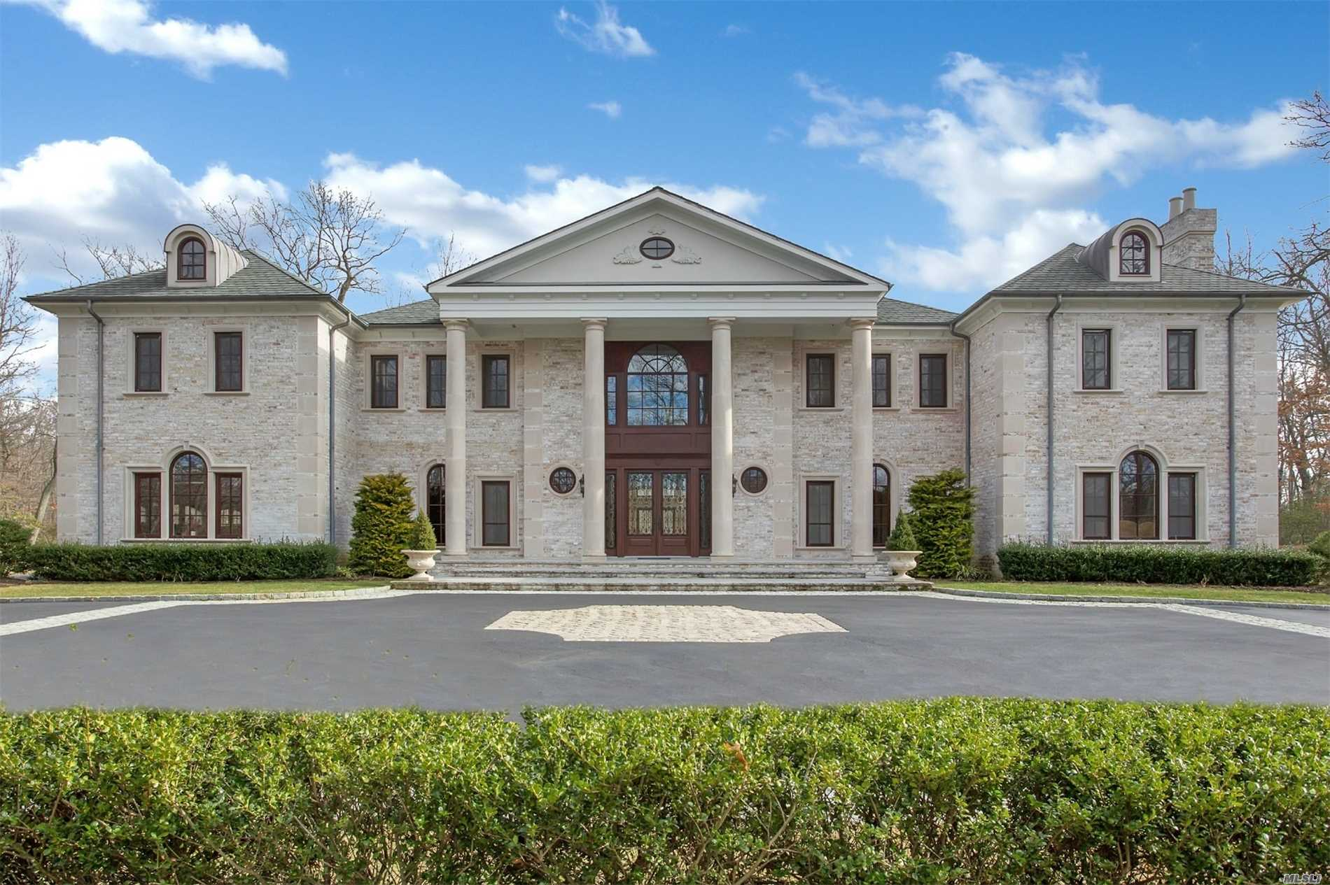 Built In 2011 And Designed By Gary Gallagher, Magnificent 9000 Sq Ft Grand Masterpiece. 5.65 Acres At The End Of A Picturesque Cul De Sac. This Luxurious Estate Features 6 Br's 5.5 Baths, 11 Foot Ceilings , Two Story Entrance Hall With 2 Sweeping Bridle Staircases, Radiant Heated Floors, Custom Molding And Millwork. Home Owner Is Very Motivated To Sell. 48Hrs Notice